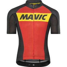 Mavic Cosmic maglietta a maniche corte Uomo rosso/nero